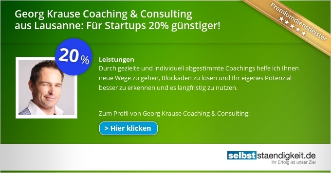 Georg Krause, Georg Krause Lausanne, Georg Krause Coaching & Consulting, Georg Krause NLP