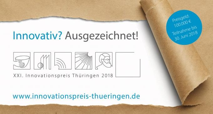 XXI. Innovationspreis Thüringen 2018